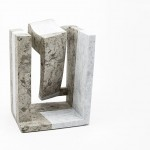 interno III (amnesie) - pietra Aurisina/gomma cm. 34.24.20 2018 (internal III – amnesia- Aurisina stone/rubber)